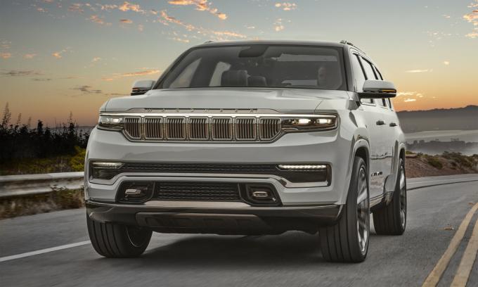 Grand Wagoneer - mẫu SUV phiên bản concept. Ảnh: Jeep