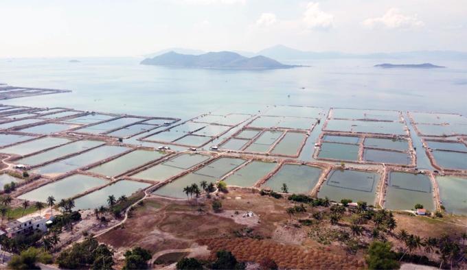 Một góc vịnh Vân Phong, huyện Vạn Ninh, Khánh Hòa. Ảnh: Trang Giang.