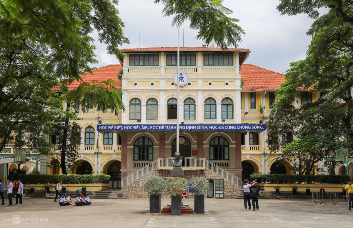 Thư viện 15 tỷ đồng trong ngôi trường hơn trăm tuổi