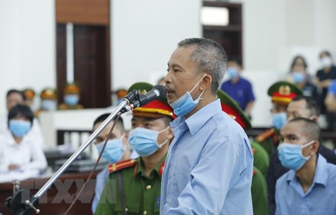 Bị cáo Lê Đình Công. Ảnh: TTXVN