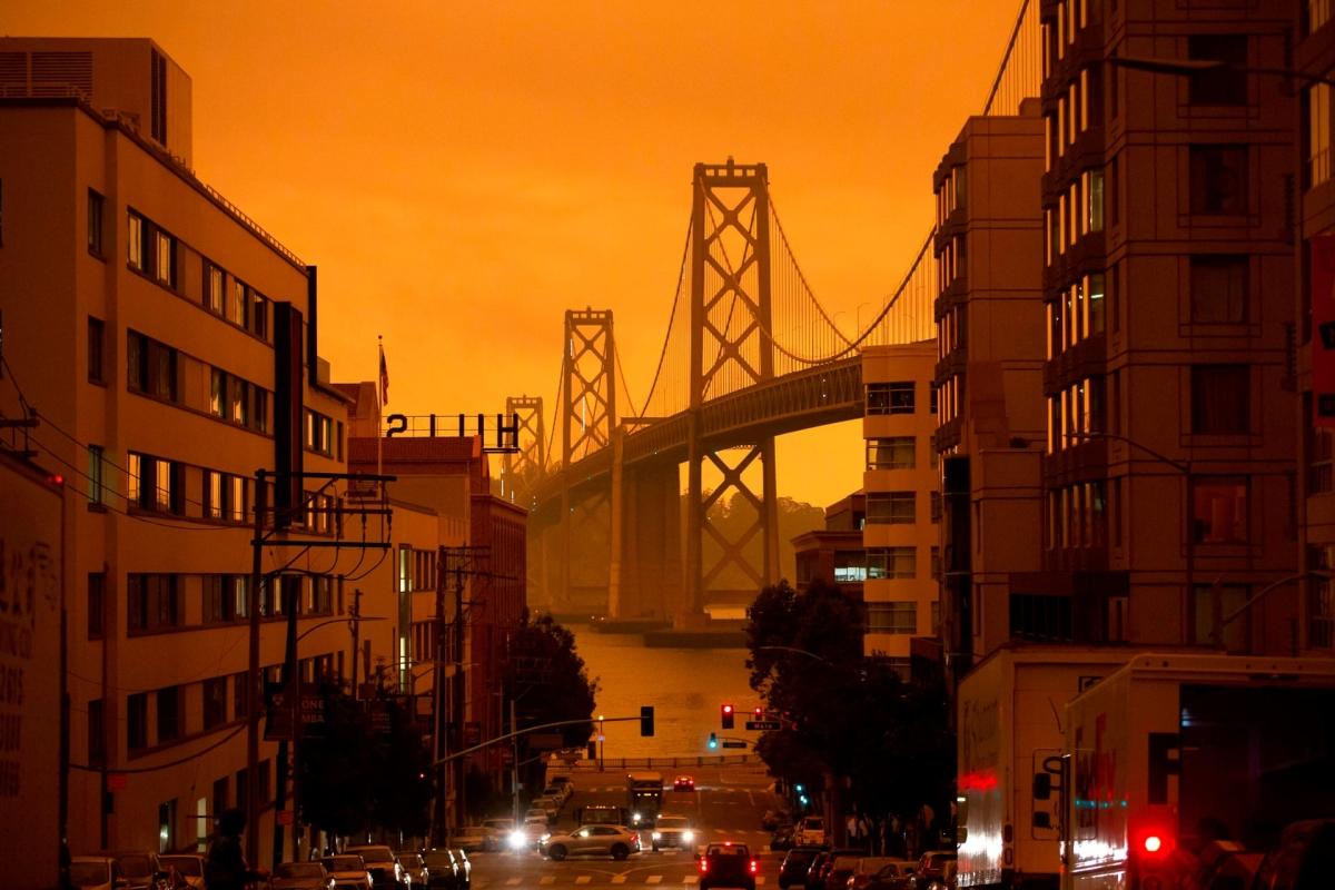 California hóa Sao Hỏa do cháy rừng