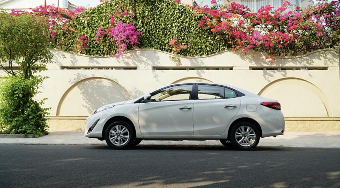 Toyota Vios mới thêm nhiều trang bị.