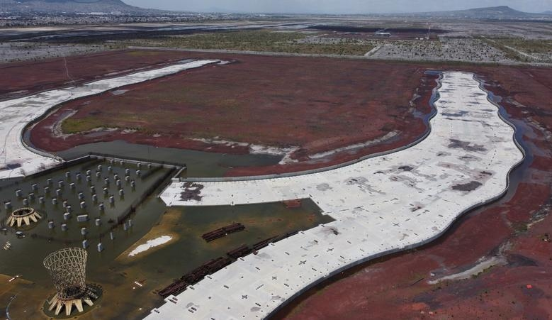 Sân bay tỷ đô bị bỏ hoang ở thủ đô Mexico