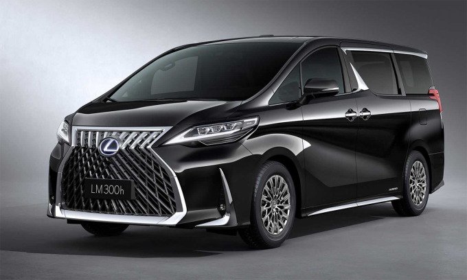 Lexus LM - luxury minivan costs 215,000 USD