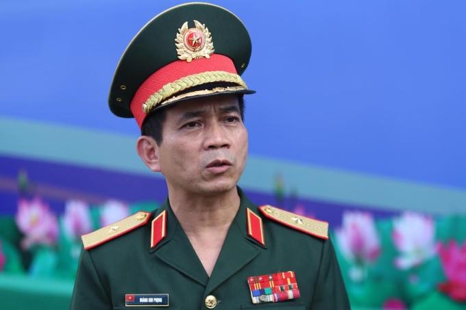 Thiếu tướng Hoàng Kim Phụng, Cục trưởng Gìn giữ Hoà bình Việt Nam. Ảnh: Gia Chính