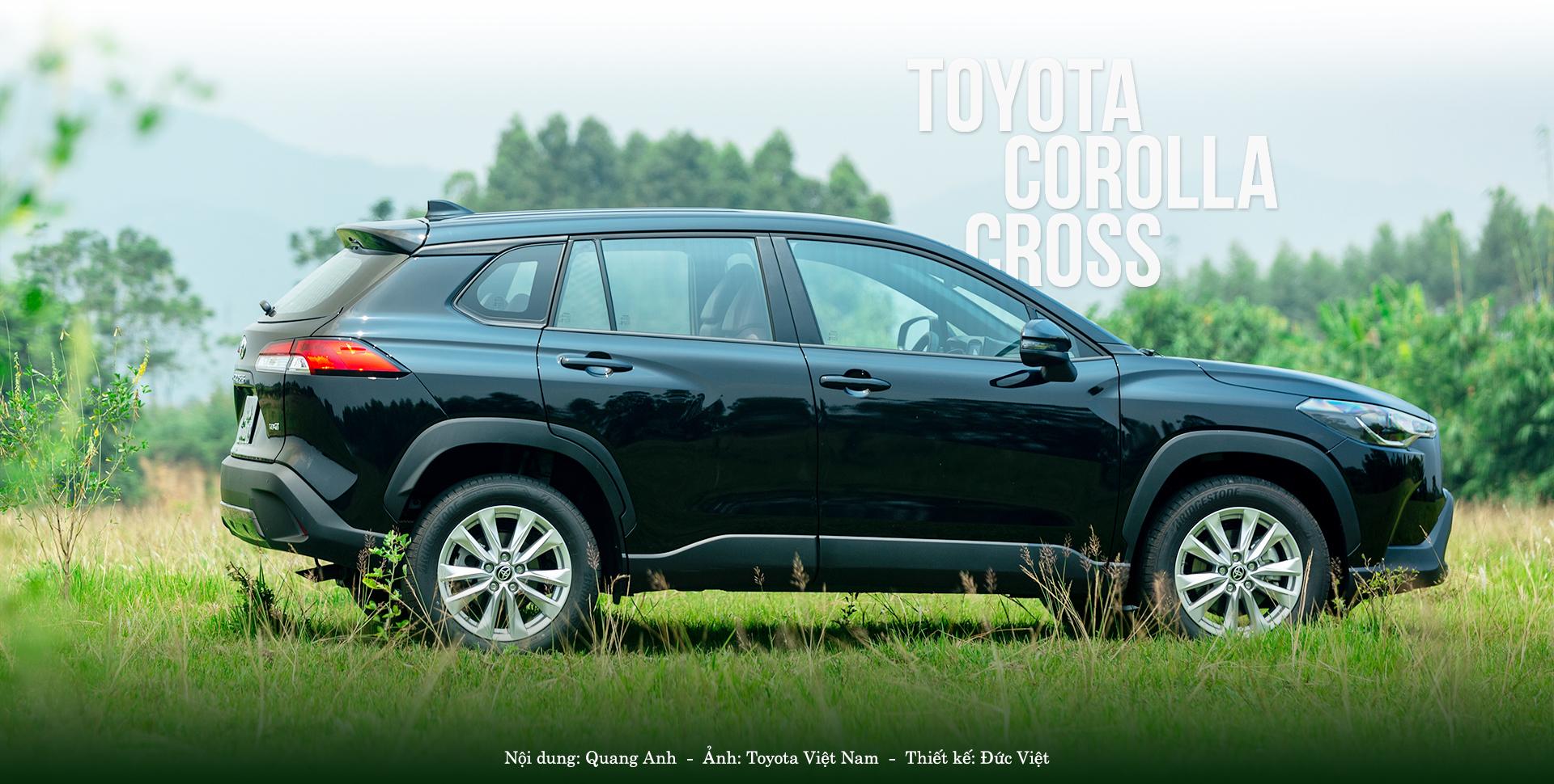 anh5 8925 1600051607 Toyota Corolla Cross bản tiêu chuẩn có gì trong tầm giá 720 triệu