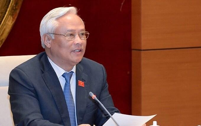 Phó Chủ tịch Quốc hội Uông Chu Lưu. Ảnh: Trung tâm báo chí Quốc hội