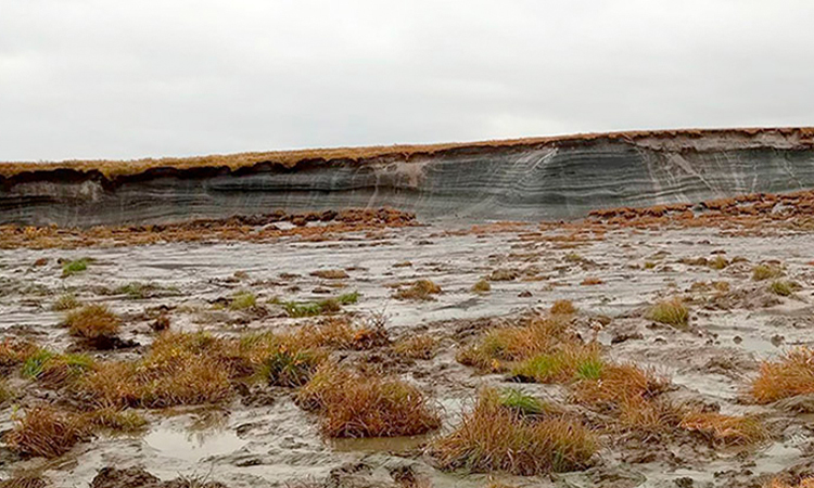Hố rộng gần 200 m xuất hiện ở Siberia