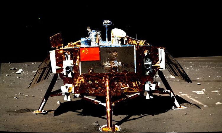 Trạm đổ bộ Mặt Trăng Trung Quốc vẫn hoạt động sau 7 năm