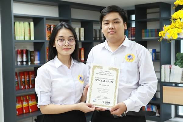 Sinh viên SIU giành giải lập trình Procon quốc tế