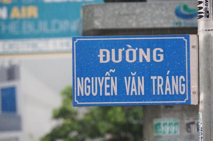 Đường Nguyễn Văn Tráng (quận 1) được đề xuất đổi thành Phạm Văn Tráng. Ảnh: Mạnh Tùng.