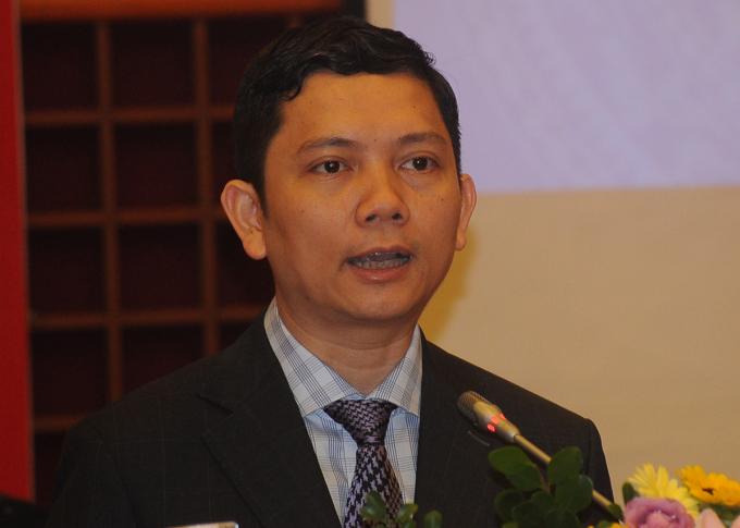 PGS. TS Bùi Nhật Quang, Chủ tịch Viện Hàn lâm Khoa học Xã hội Việt Nam. Ảnh: Viết Tuân