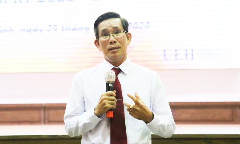 ĐH Kinh tế TP HCM có hiệu trưởng mới