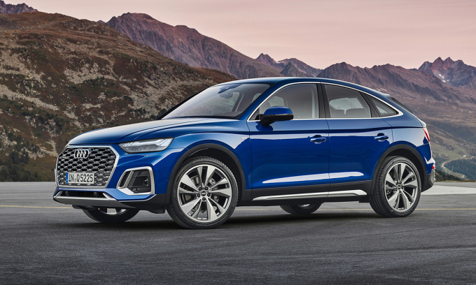Audi Q5 Sportback 2021 - New rival of BMW X4