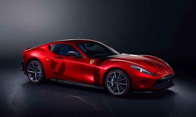 Ferrari Omologata - unique 'super horse'