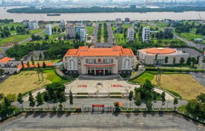 Trụ sở UBND quận 2 ở đường Trương Văn Bang. Ảnh: Website quận 2
