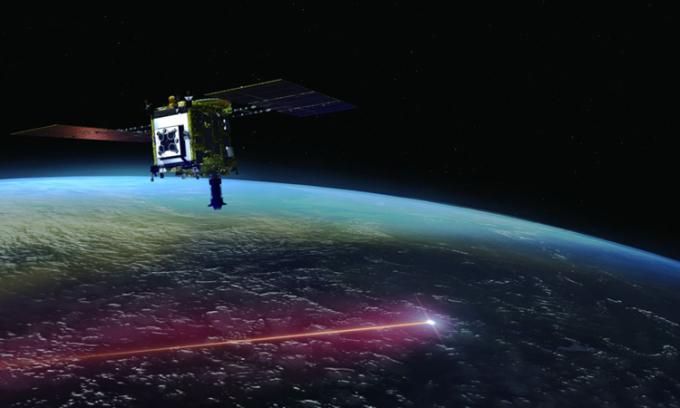 Tàu Hayabusa2 sẽ thả khoang chứa mẫu vật xuống Trái Đất trước khi thực hiện chuyến du hành thứ hai. Ảnh: JAXA.