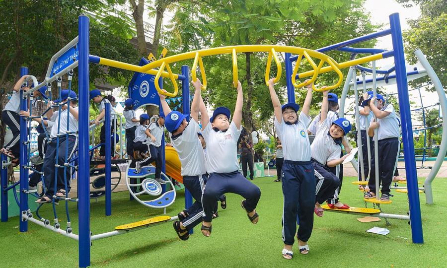 Sân chơi 'Ngại gì thử thách' cho học sinh tiểu học