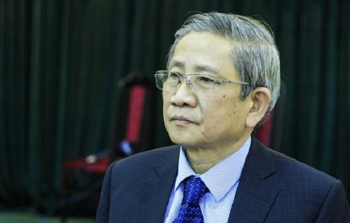 GS Nguyễn Minh Thuyết trong buổi công bố chương trình giáo dục phổ thông mới năm 2018. Ảnh: Dương Tâm.