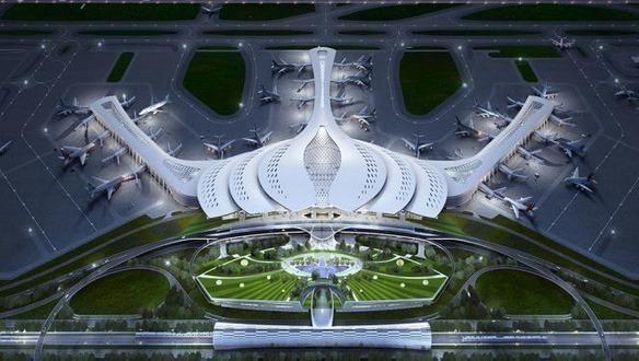 Phối cảnh sân  bay quốc tế Long Thành.