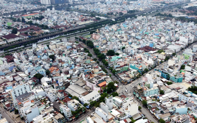 Nút giao Bình Tiên - Phạm Văn Chí (quận 6) - điểm đầu dự án cầu đường Bình Tiên, ngày 2/10. Ảnh: Gia Minh.