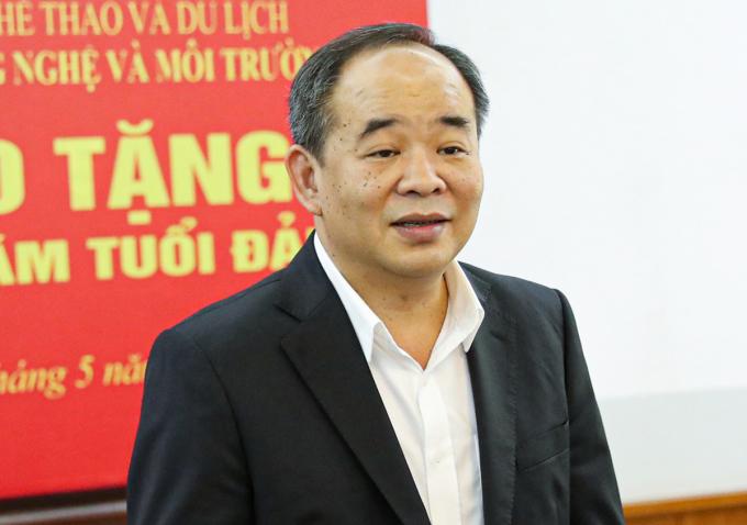 Ông Lê Khánh Hải. Ảnh: Bộ Văn hóa Thể thao Du lịch