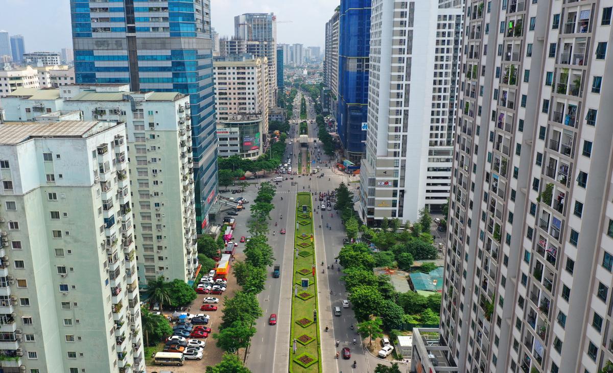 Thủ đô thay đổi diện mạo trong 10 năm