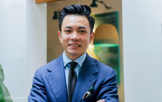 Đặng Trần Tùng, chàng trai Việt đầu tiên bốn lần đạt 9.0 IELTS ở cả hai hình thức thi trên giấy và máy tính. Ảnh: Thanh Hằng