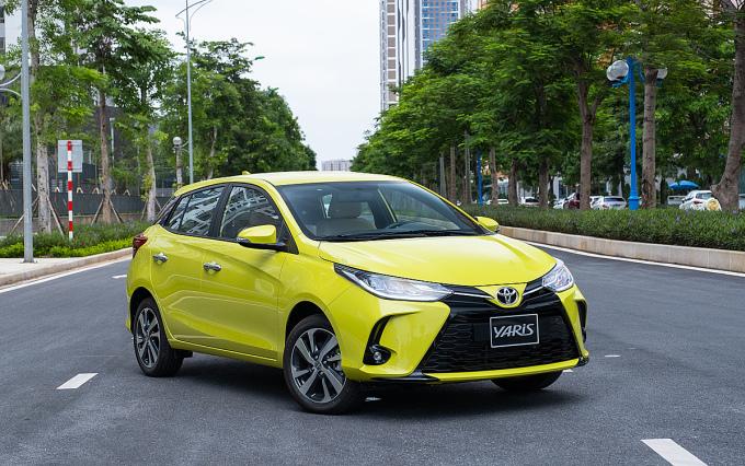 Toyota Yaris 2020 lăn bánh tại Việt Nam. Ảnh: TMV