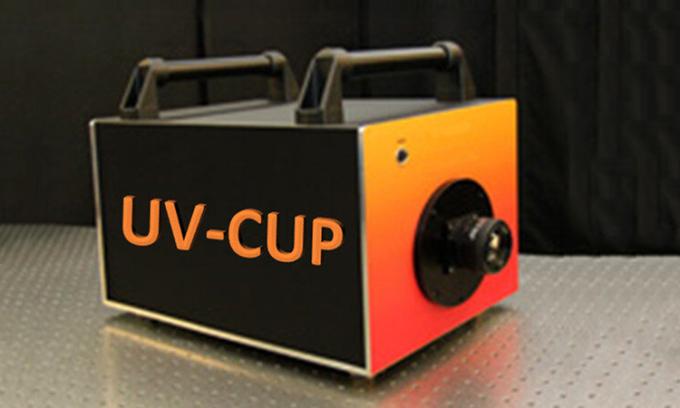 Hệ thống UV-CUP có thể cảm nhận bước sóng ánh sáng ngắn của tia cực tím. Ảnh: INRS.