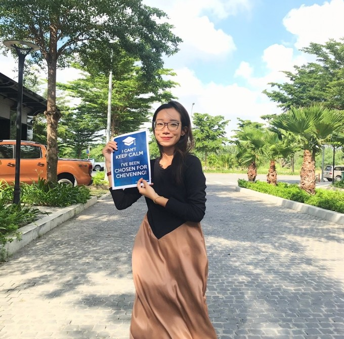 Nguyễn Mai Linh theo học Thạc sĩ ngành Truyền thông và Báo Chí tại Đại học Cardiff. Ảnh: Mai Linh.