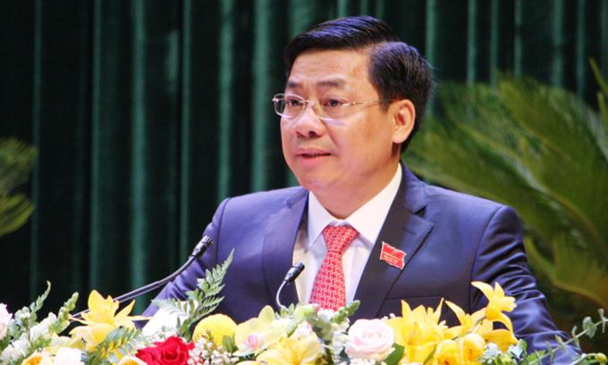 Ông Dương Văn Thái, tân Bí thư Tỉnh ủy Bắc Giang. Ảnh: PV