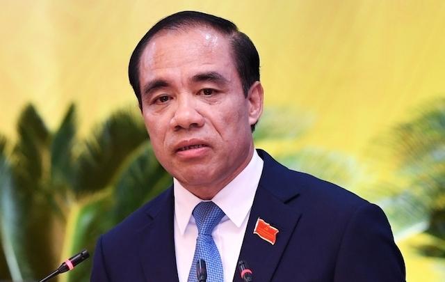 Bí thư Tỉnh uỷ Tuyên Quang Chẩu Văn Lâm. Ảnh: PV