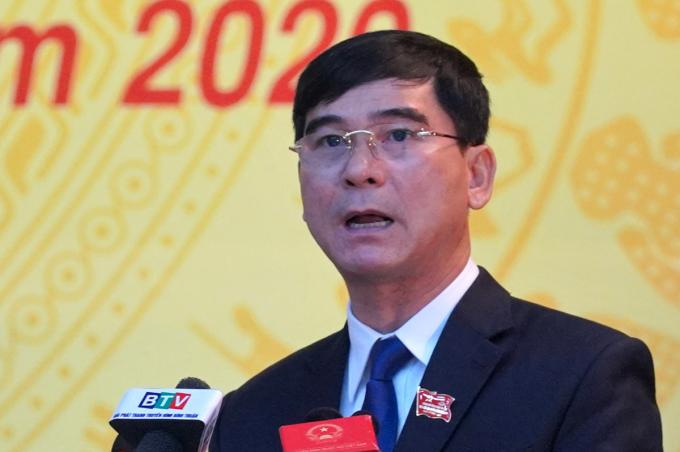 Ông Dương Văn An, Bí thư Tỉnh ủy Bình Thuận khóa XIV. Ảnh: Việt Quốc.