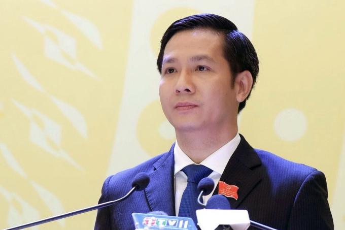 Ông Nguyễn Thành Tâm, Bí thư tỉnh Ủy Tây Ninh tại đại hội. Ảnh: Báo Tây Ninh.