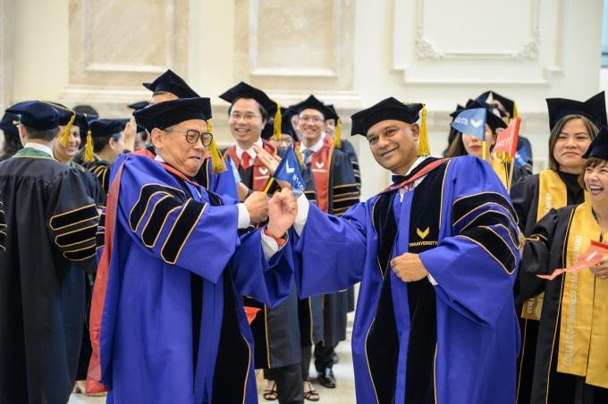 VinUni hợp tác các trường đại học hàng đầu thế giới nhằm hướng tới đạt những chuẩn mực cao nhất trong nghiên cứu, giảng dạy, mở rộng cơ hội phát triển cho sinh viên. Ảnh: VinUni.