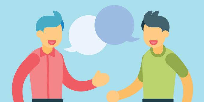 Tranh minh hoạ: Learn talk.