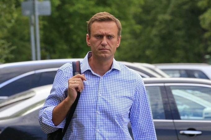 Alexei Navalny tại Moskva, Nga tháng 7/2019. Ảnh: Reuters.