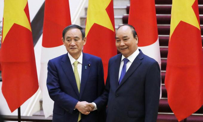 Thủ tướng Nhật cam kết hỗ trợ khẩn cấp Việt Nam khắc phục bão lụt