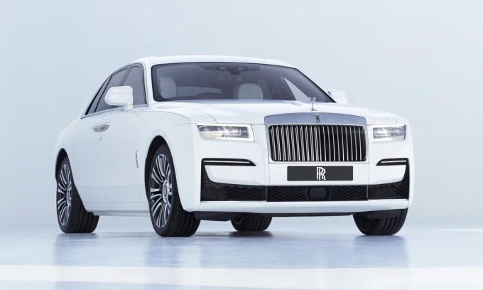 Ghost thế hệ mới. Ảnh: Rolls-Royce