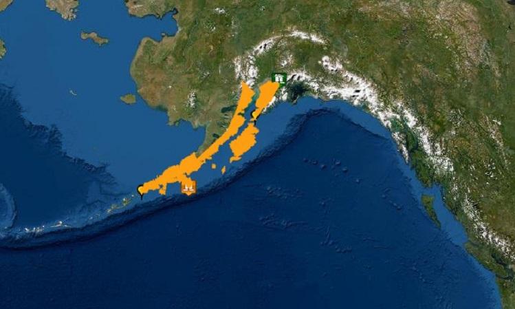 Động đất gây cảnh báo sóng thần tại Alaska