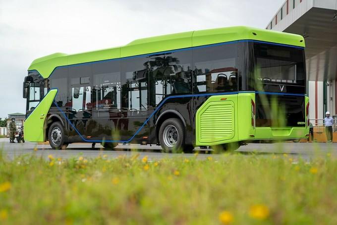 Thiết kế xe buýt điện của VinFast. Ảnh: VinFast