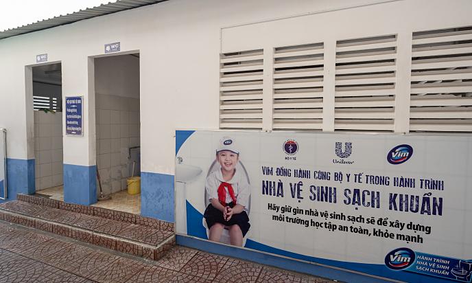 Hơn 1.000 nhà vệ sinh mới cho học sinh 12 năm qua