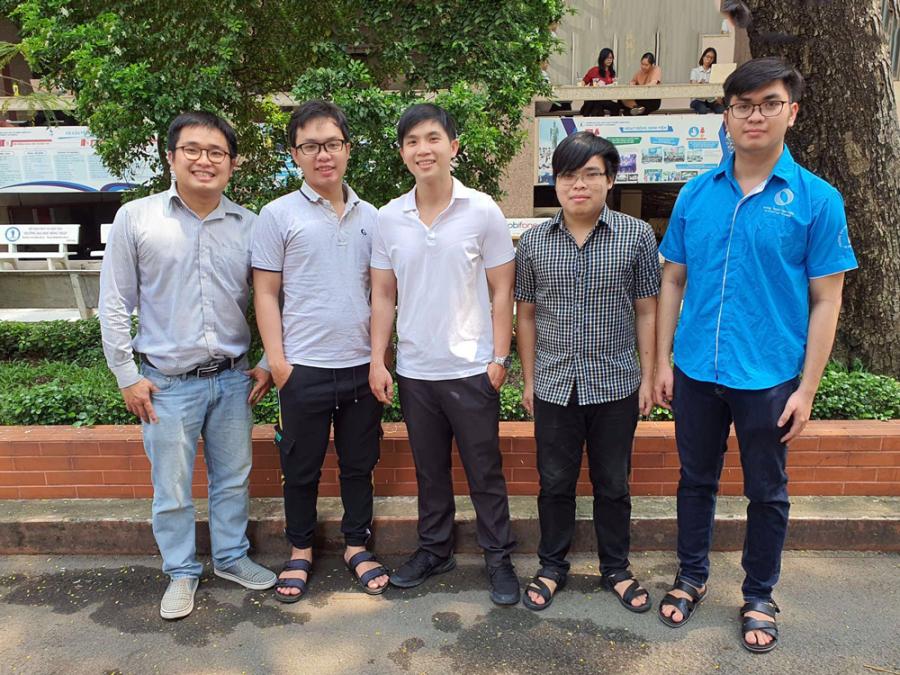 Sinh viên giành giải nghiên cứu khoa học Châu Á - Thái Bình Dương