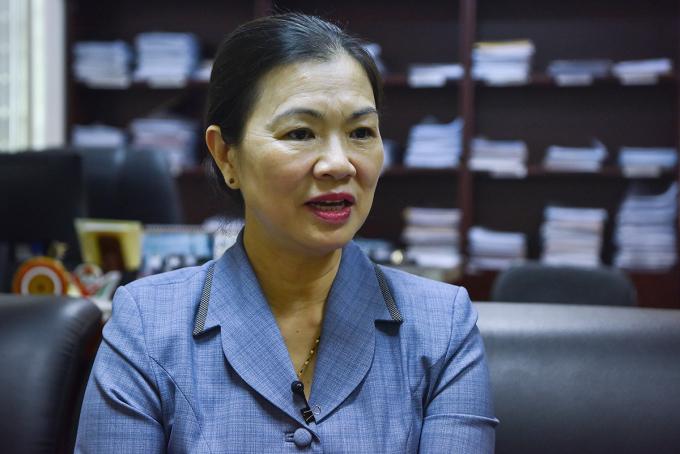 Bà Trương Thị Ngọc Ánh, Phó chủ tịch Mặt trận Tổ quốc Việt Nam. Ảnh: Giang Huy