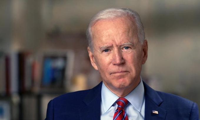 Ứng viên tổng thống đảng Dân chủ Joe Biden nói trong cuộc phỏng vấn được phát sóng trên CBS hôm 25/10. Ảnh: CBS.