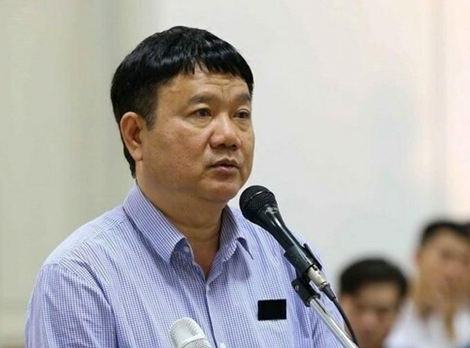 [Ông Đinh La Thăng trong lần ra tòa tại Hà Nội năm 2018.Ảnh: TTXVN.
