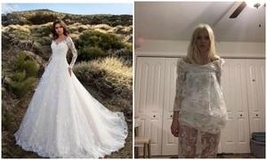 Đặt váy cưới online, cô gái sốc khi nhận hàng