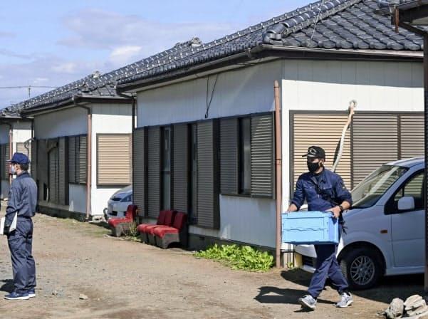 ¢ảηн ѕáт tại ngôi nhà ở thành phố Ota, tỉnh Gunma, nơi các nghi phạm Việt bị Ⴆắt hôm nay. Ảnh: Nikkei.