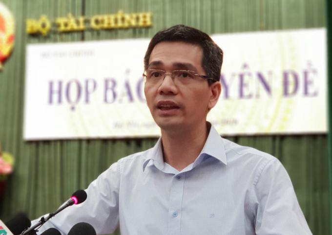 Ông Võ Thành Hưng, Vụ trưởng Ngân sách Nhà nước (Bộ Tài chính). Ảnh: MOF